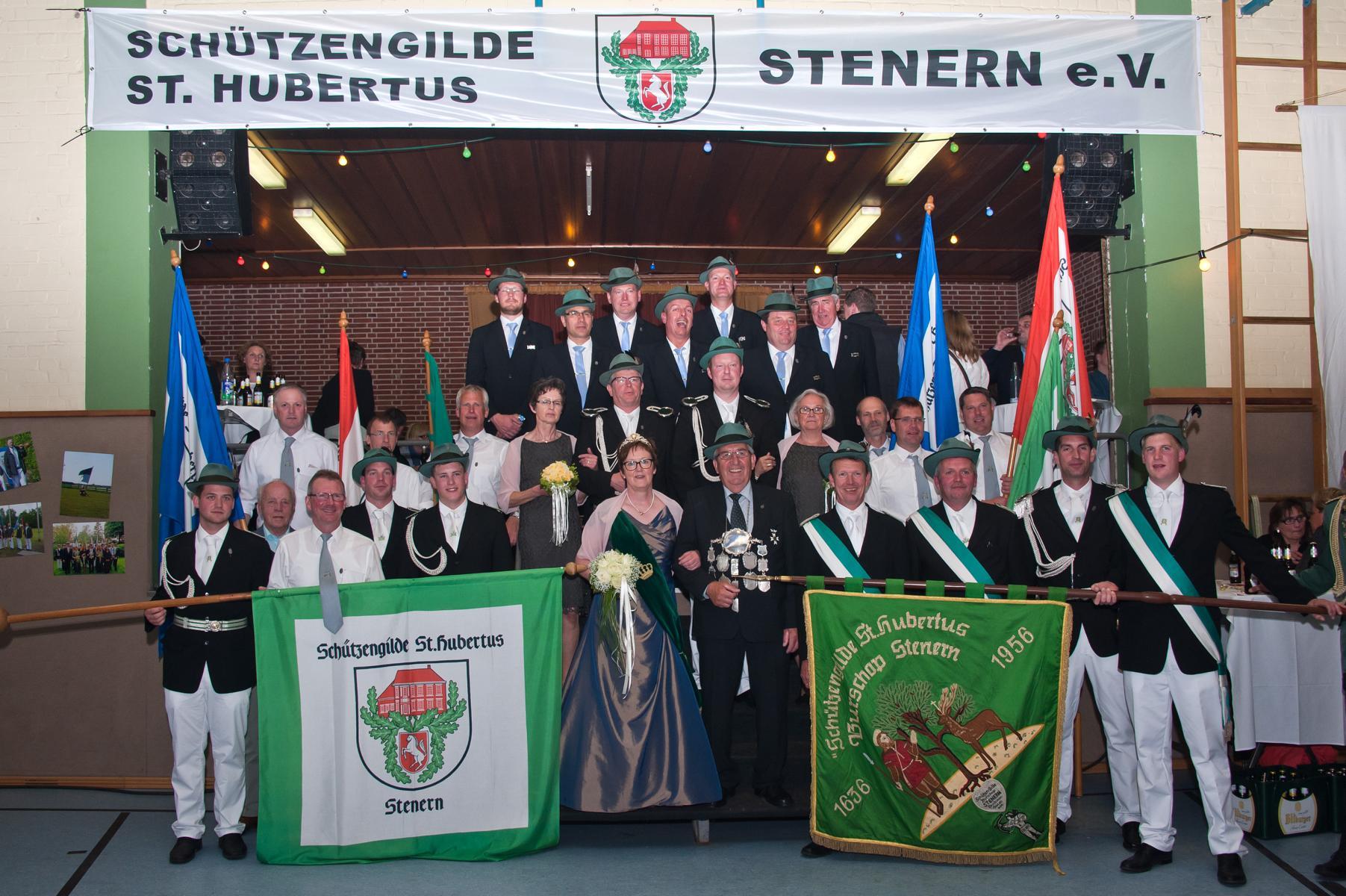 Nach 40 Jahren ist Heinrich Nienhaus König 2015